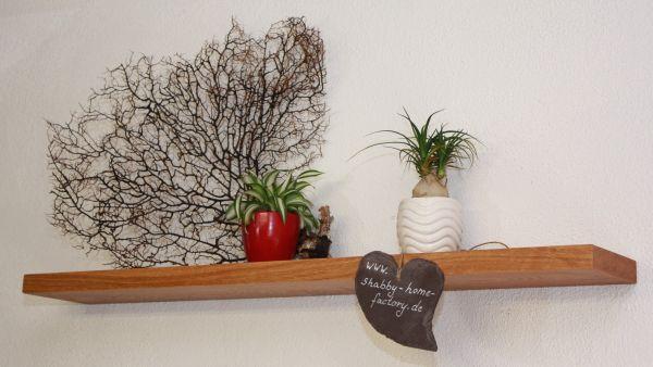 90 cm Wandbord aus Eichenholz