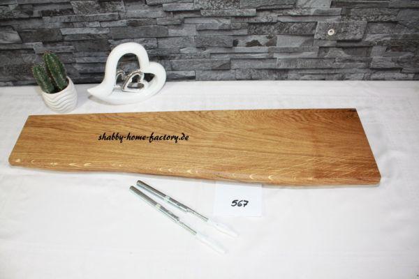 Wandboard Eiche Baumkante 73 cm #567 große Auswahl
