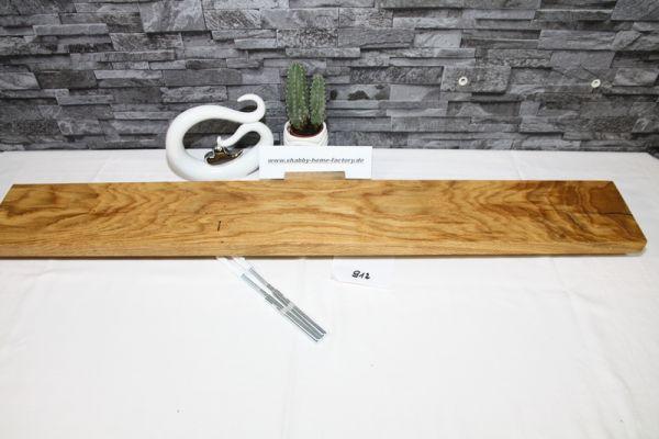 Wandoard Eiche Breite 98 cm / 13,5 cm Tiefe rustikal