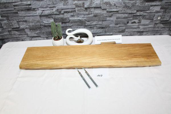 Wandboard Eiche Baumkante 82 cm Wandbrett