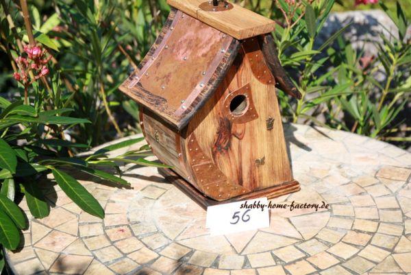 Vogelhaus, Nistkasten der besonderen Art, Gartendeko Birdhouse Hochzeitsgeschenk