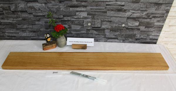 100 cm Eiche Bord Wandboard mit besonderer Maserung