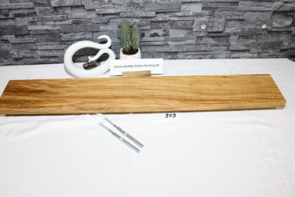 Wandoard Eiche Breite 98 cm / 13 cm Tiefe rustikal