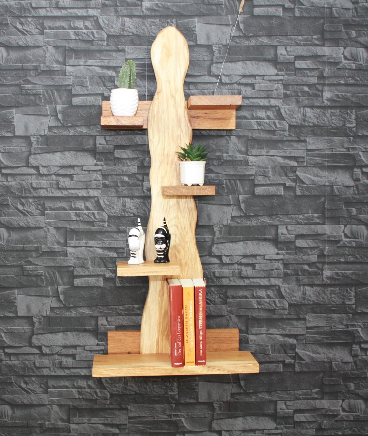 regal eiche natur ge lt 193 naturholz m bel m bel. Black Bedroom Furniture Sets. Home Design Ideas