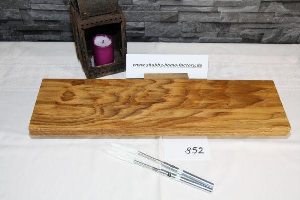 50 cm Board Eiche massiv geölt mit besonderer Maserung