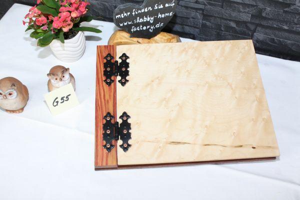Gästebuch Holzbuch furniert A 4 G 55