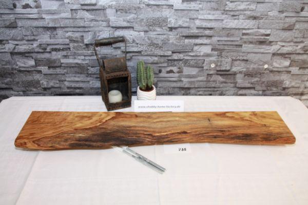 Urig schönes Wandboard Eiche Baumkante Board 90,5 cm