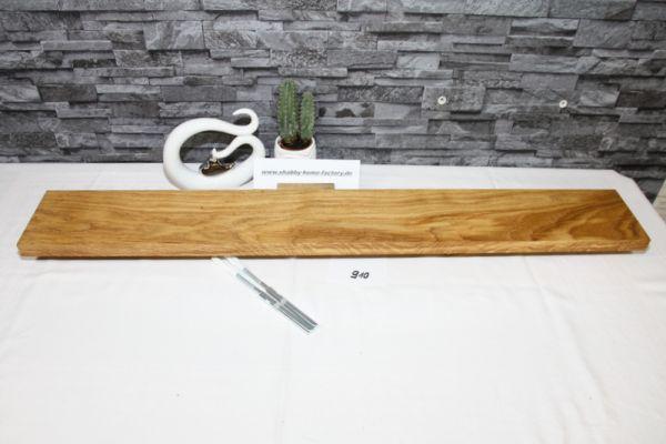 Wandboard Eiche Breite 96 cm / 14 cm Tiefe rustikal