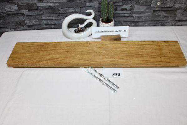 Wandoard Eiche Breite 79 cm / 13 cm Tiefe rustikal