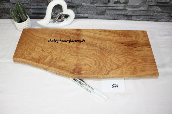 Wandboard Eiche Baumkante 58 cm große Auswahl