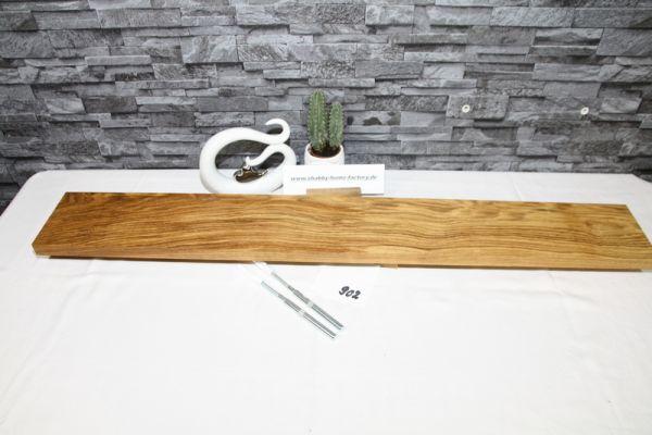 Wandoard Eiche Breite 113 cm / 14 cm Tiefe rustikal