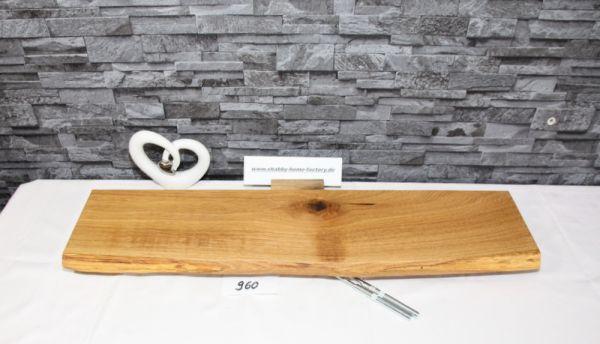 Wandboard Eiche Baumkante 77 cm Wandbrett