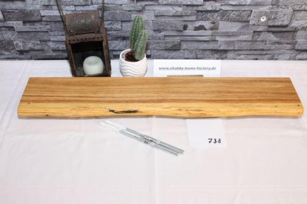 Wandboard Eiche Baumkante 70 cm #738