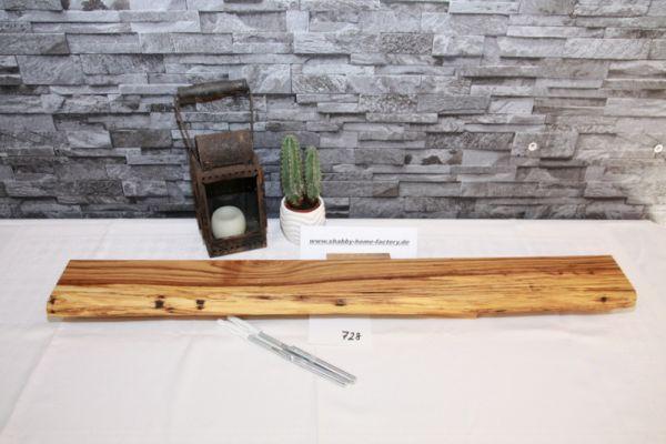 Wandboard Eiche Baumkante 84 cm Gewürzboard
