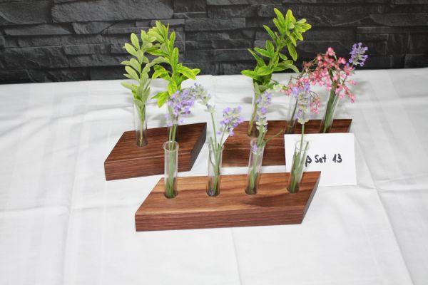 Holzvase Vasenset Nußbaum, 3 teilig #13