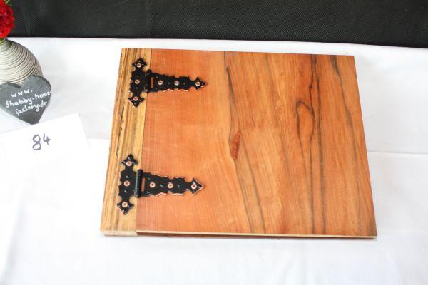 Gästebuch Fotobuch aus Holz