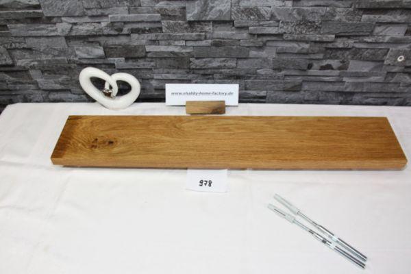 Wandoard Eiche Breite 77 cm / 13 cm Tiefe rustikal