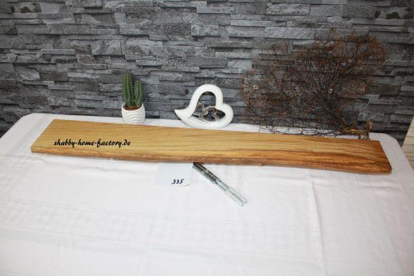Eiche Wandbord mit Baumkante # 335