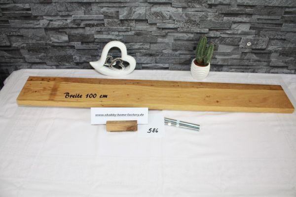 Gestockte Eiche Wandboard mit besonderer Maserung 100 cm