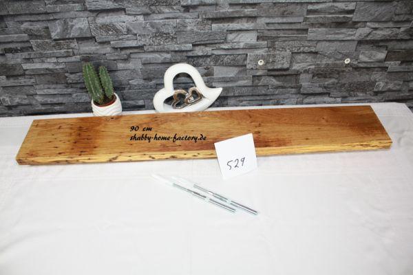 90 cm Wandboard Eiche massiv geölt mit besonderer Maserung