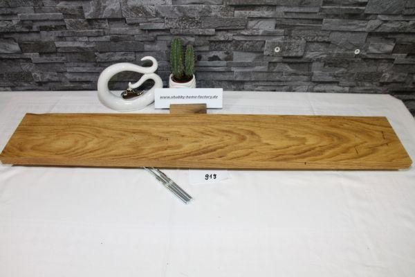 Wandoard Eiche Breite 96 cm / 16 cm Tiefe rustikal