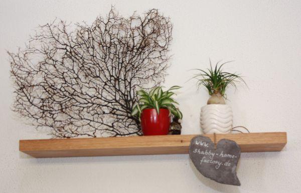 Wandbord aus Eichenholz