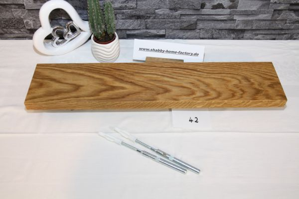 Starke Eichenboards Breite 60 / 13 cm Tiefe Wildeiche