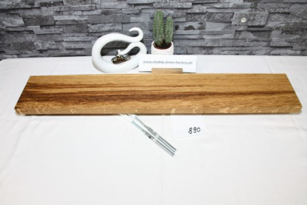 Wandoard Eiche Breite 81 cm / 13,5 cm Tiefe rustikal