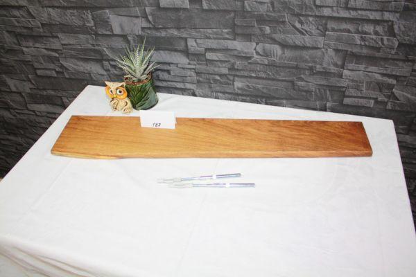 Bord mit Baumkante Wandboard Eiche 85 cm #187