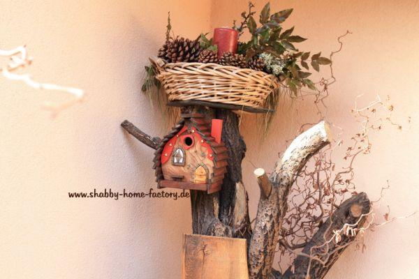 Nistkasten Gartendeko Vogelvilla Geldgeschenkebox Birdhouses