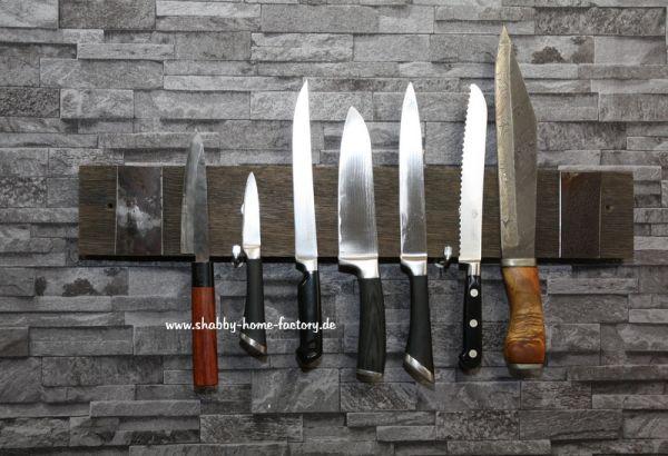 Messerleiste magnetisch Messerblock Fassdaube Messerhalter