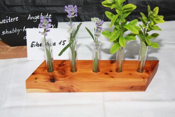Holzvase Vase aus Eibe