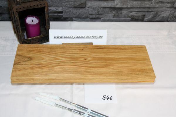 40 cm Board Eiche massiv geölt Einzelstück