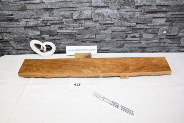 Eiche Wandboard massiv geölt 81 cm breit