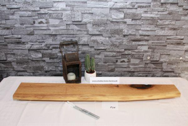 Wandboard Eiche Wildeiche Baumkante 94,5 cm Board