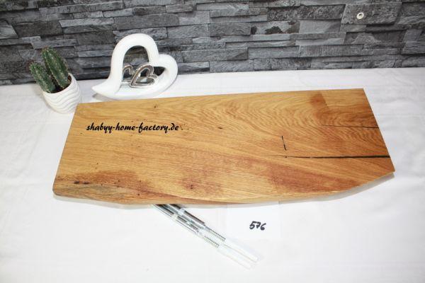 Wandboard Eiche Baumkante 59 cm große Auswahl