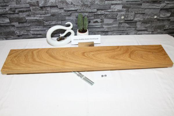 Wandoard Eiche Breite 93 cm / 16 cm Tiefe rustikal