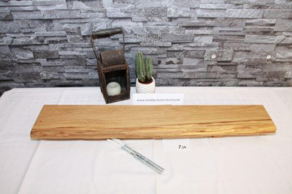 Wandboard Eiche Baumkante Board 80 cm