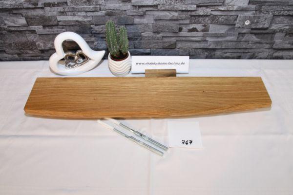 Wandboard Eiche Baumkante 70 cm