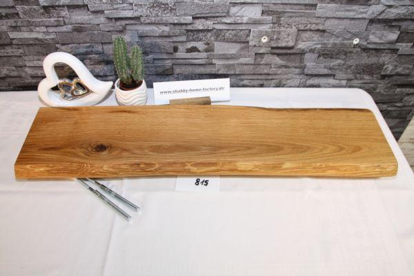 Wandboard Eiche Baumkante 78 cm Wandbrett