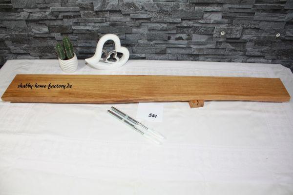104 cm Wandboard Eiche massiv geölt mit besonderer Maserung