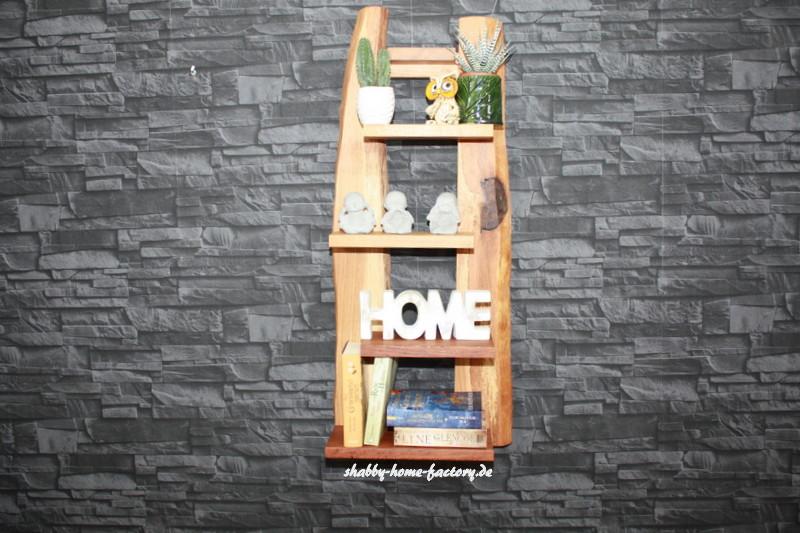 wandregal eiche massiv 265 m bel wohnen shabby home. Black Bedroom Furniture Sets. Home Design Ideas