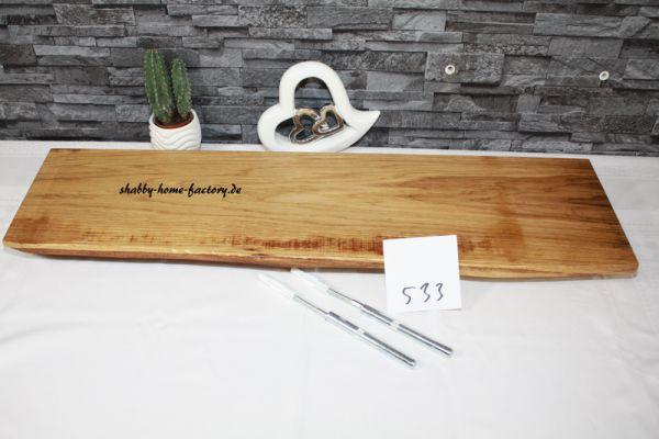Wandboard Eiche Baumkante 80 cm #533 große Auswahl im Shop
