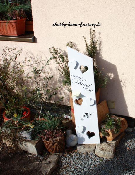 Home-sweet-home Gartenschild #72