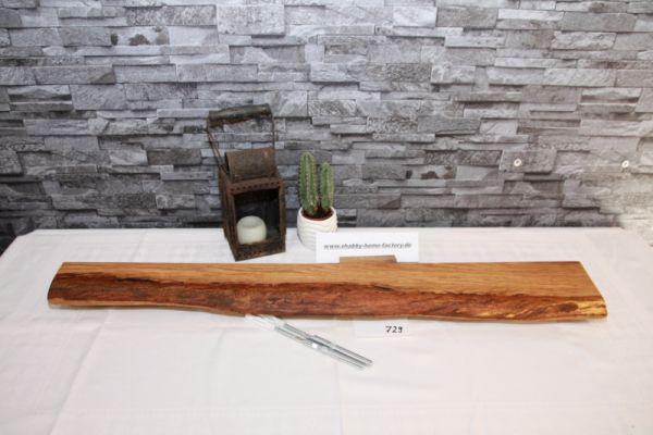 Wandboard Eiche Baumkante 90 cm Gewürzboard