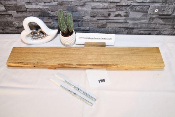 Wandboard Eiche Baumkante 67 cm Wandbrett