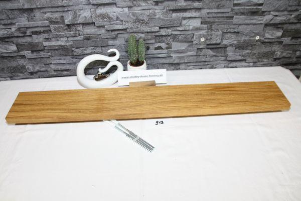 Wandoard Eiche Breite 96 cm / 13 cm Tiefe rustikal