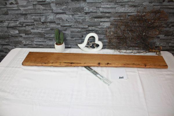 Eiche Wandbord mit Baumkante # 336