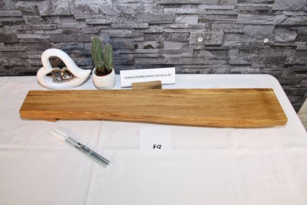 Wandboard Eiche Baumkante 79 cm Wandbrett