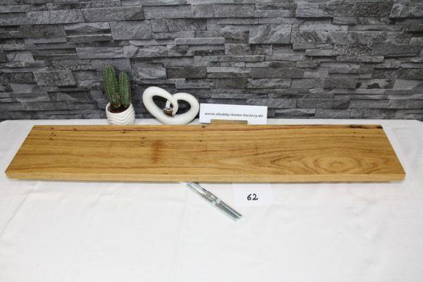 Wandboard Eiche Breite 94 cm / 17 cm Tiefe rustikal